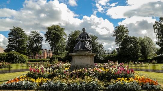 Elder Park Rose Garden. Photo by Jean Pierre SaintMartin.