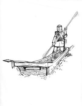 Tam McGarvey Boat Ancient Govan